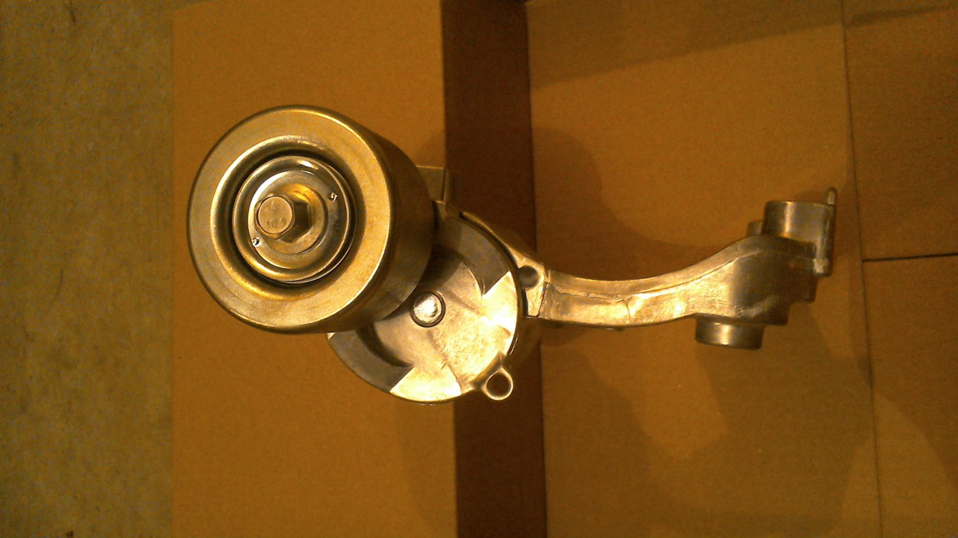 Replace 2008 3 5 motor serpentine belt tensioner assembly