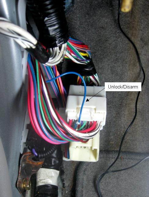 Audiovox Alarm Remote Start Wiring