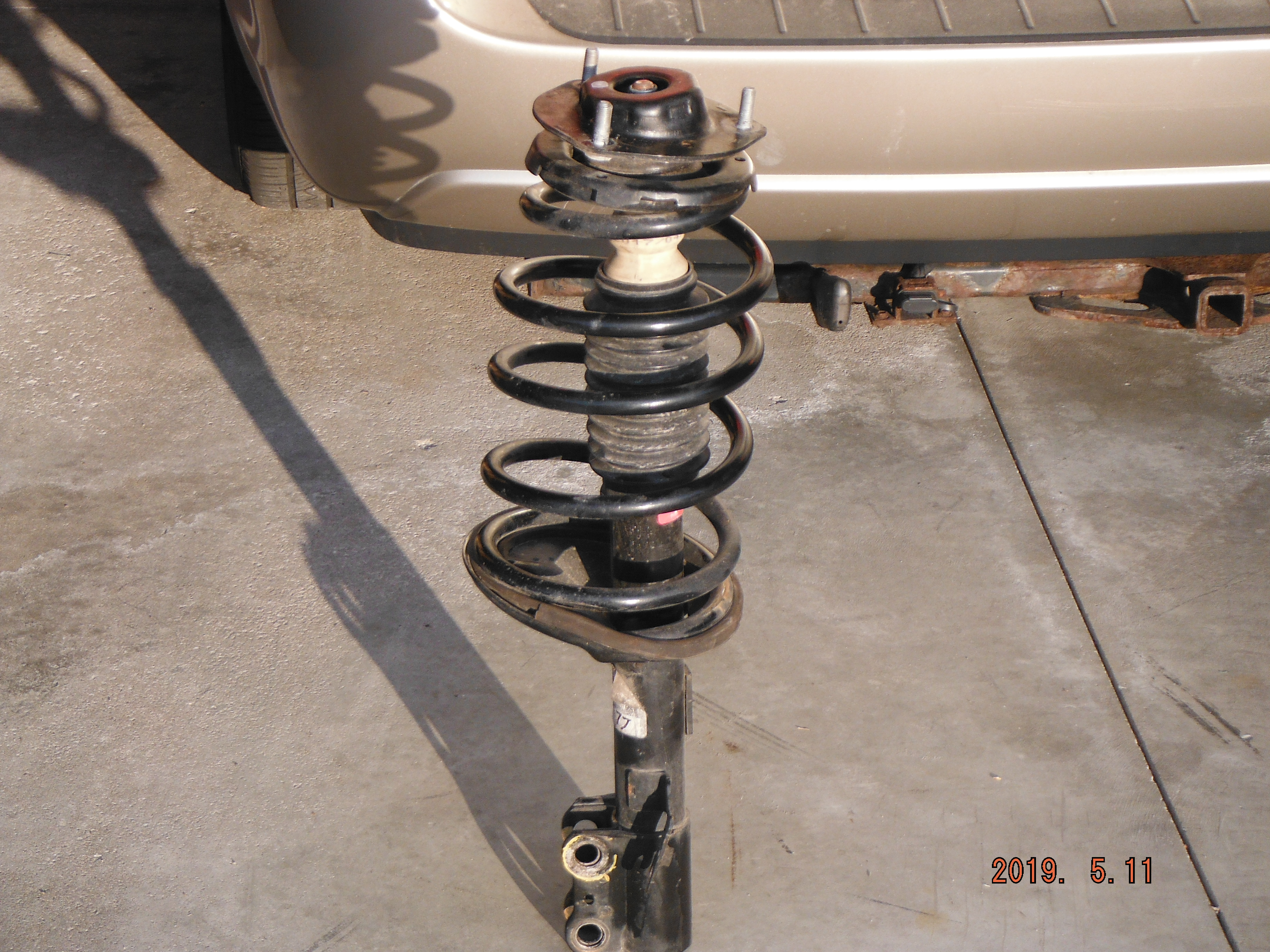 Front Struts w// Coil Springs /& Rear Shocks FCS Kit for Toyota Sienna 2007-2010