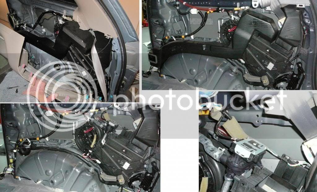 Hvac Mode Door Actuator Replacement