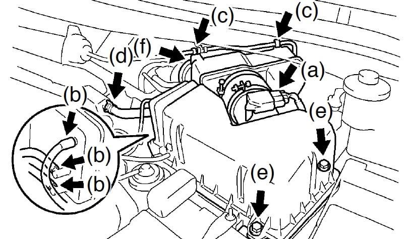 Loose Vacuum Hose Connectors Toyota Sienna Forum Siennachat Com