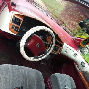 Big Berthas old interior color